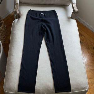 Vintage DKNY Merino Wool Black Leggings Small